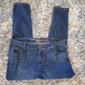Old Navy Blue Super Skinny Jeans